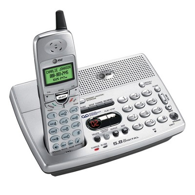 E5917  5.8GHz expandable cordless with digital answering system