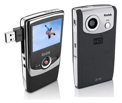 Zi6 Pocket Video Camera (Black)