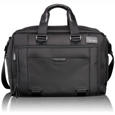 T-Tech By Tumi Network T-Pass Expandable Laptop Brief (58541)(Black)