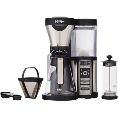 CF081 Coffee Bar Brewer with Glass Carafe and Reusable Filter