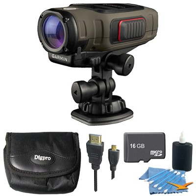 VIRB Elite Dark Action Camera Essentials Kit