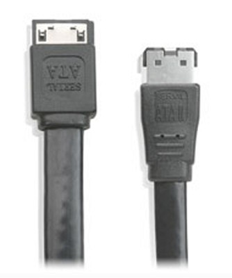 SATA 1.5Gbps to eSATA 3Gbps external cable 6ft. (2m) - G2LeS3S06
