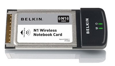 N1 Wireless Notebook Card up to 300Mbps