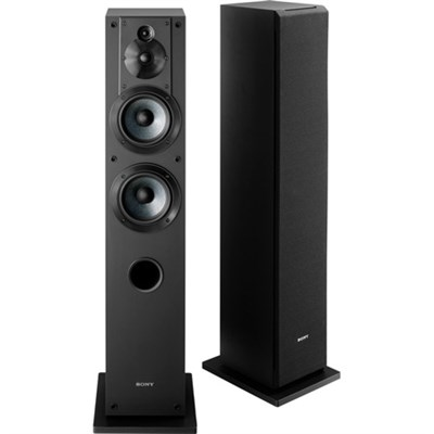 SS-CS3 3-Way 4-Driver Bass Reflex Stereo Floor-Standing Speaker