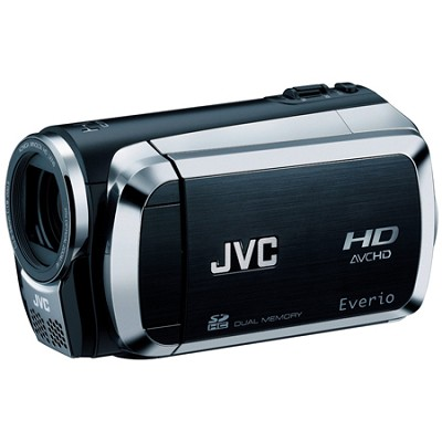 Everio GZ-HM200 Dual SD High-Def Camcorder (Black)  Refurbished