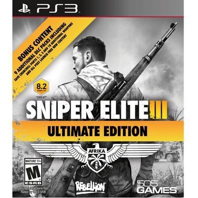 Sniper Elite III Ult Ed PS3
