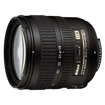 18-70mm F/3.5-4.5G ED-IF AF-S DX Zoom USA Lens, Refurbished