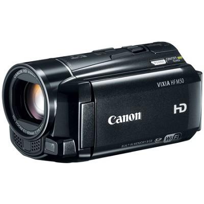 VIXIA HF M50 HD 8GB Flash Memory Camcorder Factory Refurbished