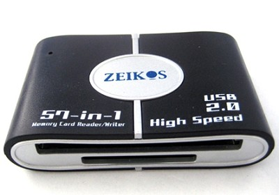 57-in-1 USB 2.0 High Speed Memory Card Reader SD,XD,CF,Micro SD,MS DUO and more