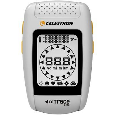 reTrace Lite Handheld GPS Locator - White