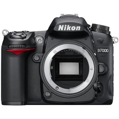 D7000 16.2 MP DX-format Digital SLR Camera Body w/ 1080p HD Video
