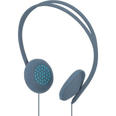 Pivot On Ear Headphones - Dove/Blue