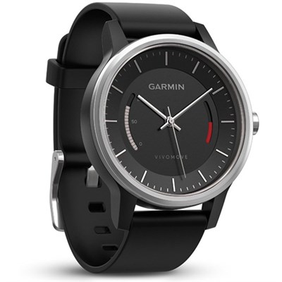 Vivomove Sport Activity Tracker - Black with Sport Band (010-01597-02)