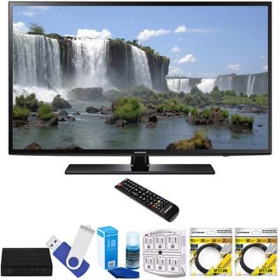 55-inch 1080p 120Hz Full HD LED Smart HDTV with Terk Tuner Bundle