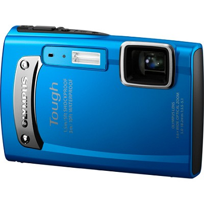 Tough TG-310 14 MP Waterproof Shockproof Freezeproof Digital Camera - Blue