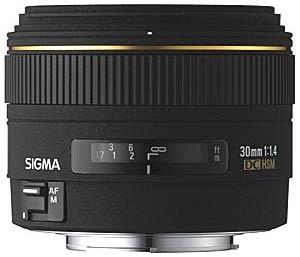 30mm f/1.4 EX DC HSM Autofocus Lens for Canon Digital SLR Cameras