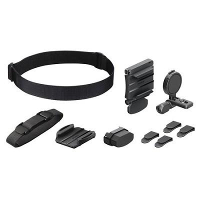 BLTUHM1 Universal Head Mount for Action Cam (Black)