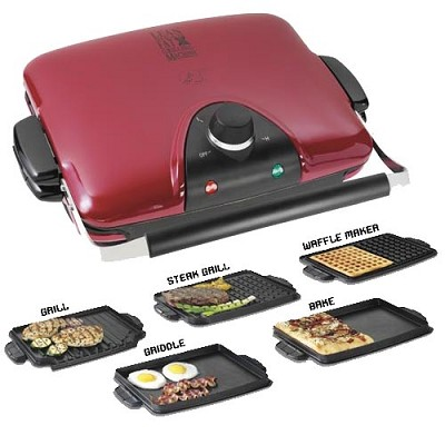 G5 Next Grilleration  Griddle with 5 Interchangeable Plates