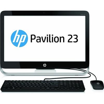 Pavilion 23` HD 23-g010 All-In-One Desktop PC - AMD E2-3800 - Refurbished