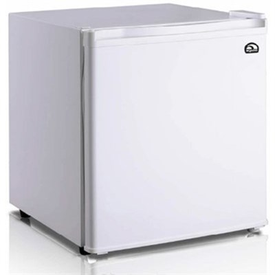 1.6 Cubic Foot Compact Mini Bar Office Dorm Refrigerator Freezer White - FR100I