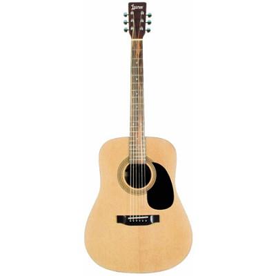 LA125N Satin Finish Dreadnought Acoustic Guitar - Natural