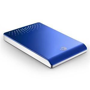 500GB USB2.0 Freeagent Go (BLUE)