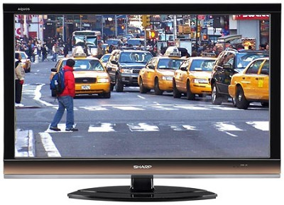 LC40E77UN - AQUOS 40` High-definition 1080p 120Hz LCD TV