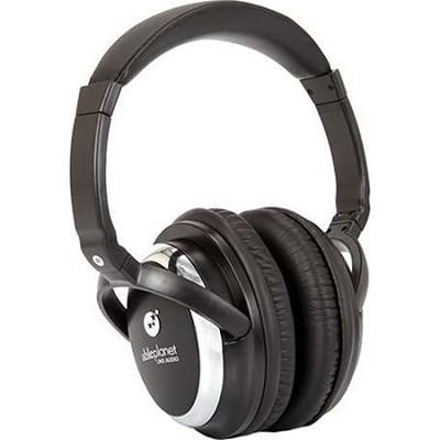 Sound Clarity Active Noise Canceling Headphones w/ Microphone - Black - OPEN BOX