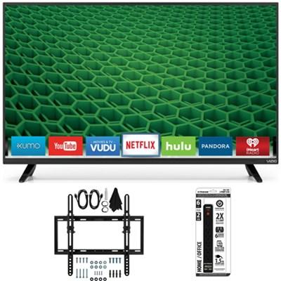 D39h-D0 D-Series 39` Class Full Array HD LED Smart TV Tilt Wall Mount Kit Bundle