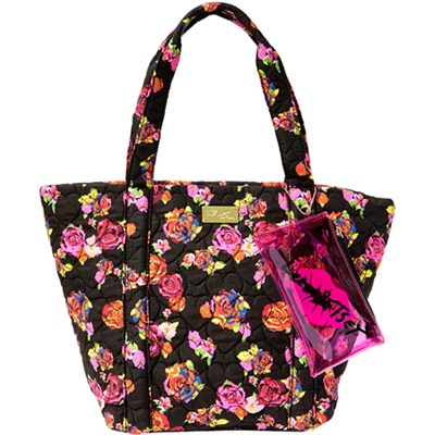 Parker Quilted Cotton Tote