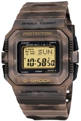 G5500MC-5 - G-Shock Ltd Edition Mudman Solar Shock Resistant Brown Camo Watch