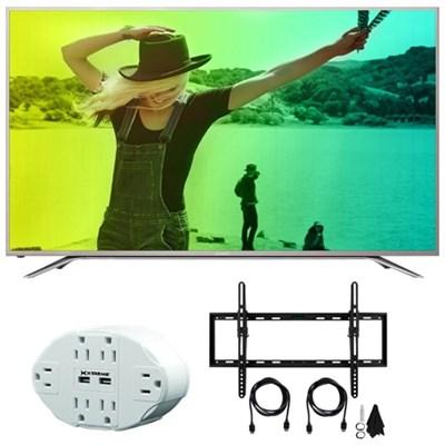 Aquos N7000 55` Class 4K Ultra WiFi Smart LED HDTV 55N7000U w/Mount Bundle