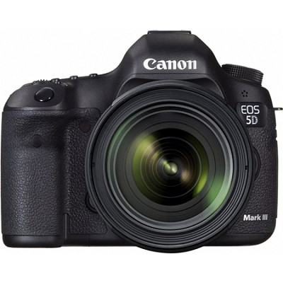 EOS 5D Mark III 22.3 MP Full Frame Digital SLR Camera 24-70mm f/4L IS Lens Kit