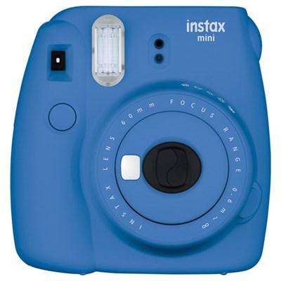 Instax Mini 9 Instant Camera - Cobalt Blue (OPEN BOX)