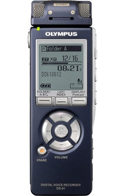 DS-61 Stereo Digital Voice Recorder with 2GB Internal Memory