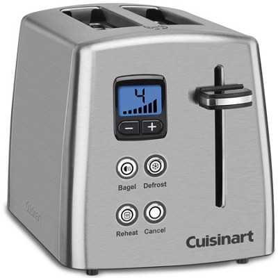 Countdown Stainless Steel Toaster