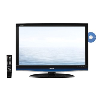 LC46BD80U - AQUOS 46` High-def 1080p 120Hz LCD TV w/ built-in Blu-ray Player