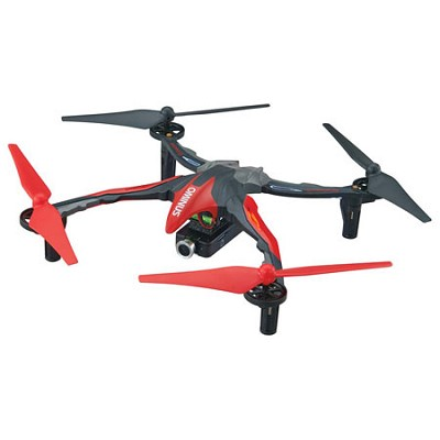 Ominus FPV UAV Quadcopter RTF, Red With Live View Video Camera