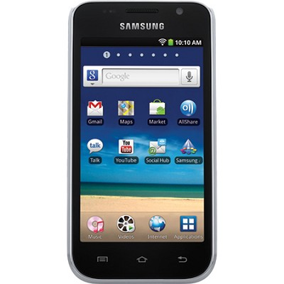 8 GB 4` Galaxy Player with 2.3.5 Android and HD Video