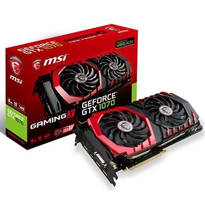 GTX1070 GeForce 8G Gaming X Graphics Card