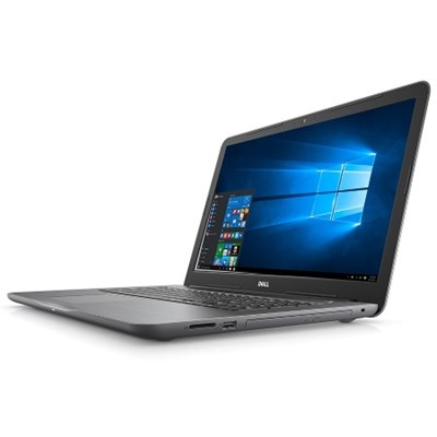 Inspiron i5767-6370GRY 17.3` FHD 7th Gen i7 16GB Laptop, Fog Gray