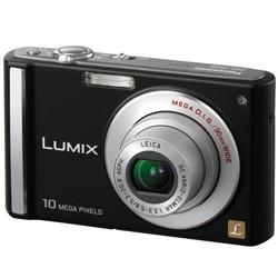 DMC-FS20K (Black) 10 MP Digital Camera w/ 3-inch LCD and 4x Optical Z - OPEN BOX
