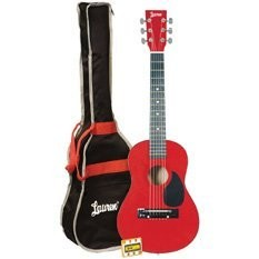 LAPKMBL 30` Student Acoustic/Electric Guitar Package - Metallic Red