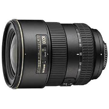 17-55mm F/2.8G ED-IFAF-S DX Zoom Lens, With Nikon 5-Year USA Warranty