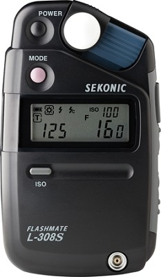 L-308s Light Meter (Black)