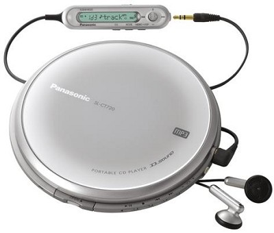 Panasonic SL-CT720 Portable CD/MP3 Player