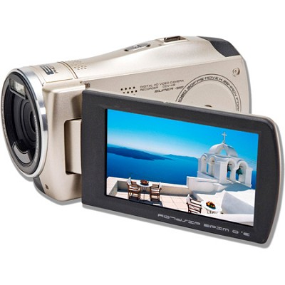 DV800HD-C Camcorder HD H.264 3.0 Wide Touch Screen Motion Detection - Champagne