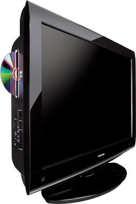 19CV100U 19-Inch 720p LCD/DVD Combo TV (Black Gloss) - OPEN BOX