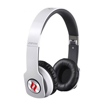 ZORO HD True Sound Headphones with Inline Mic and Answer/End Button White