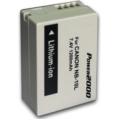 NB-10L Replacement Lithium-Ion Battery ACD-37 For PowerShot SX40 & PowerShot G1X